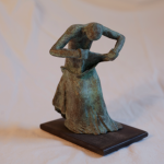 danseur de Buto 5 sculpture sweeny