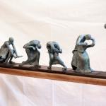 danseurs de Butô sculptures sweeny