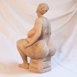 femme épanouie sculpture sweeny