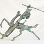 Don Quichotte sculptures sweeny