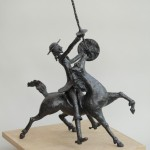 Don Quichotte sculpture sweeny